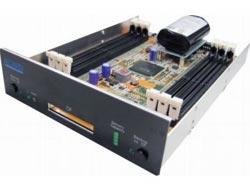 Superschnelle RAM Disk mit bis zu 48 GB DDR II Memory in 6 Slots und SATA II Anschluss ANS9010B